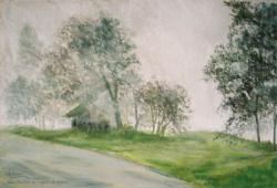 2000 Brouillard sur l'appentis de Roland