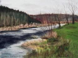 2003 Novembre au bord du Doubs