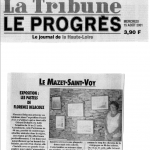 La Tribune du 15 août 2001