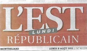 est répub 2011 manchette